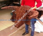 Bull Head Wall Hanging 3D Wood Puzzle