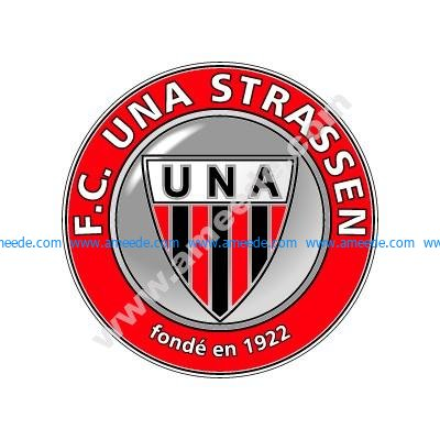 Download the FC UNA Strassen logo vector file