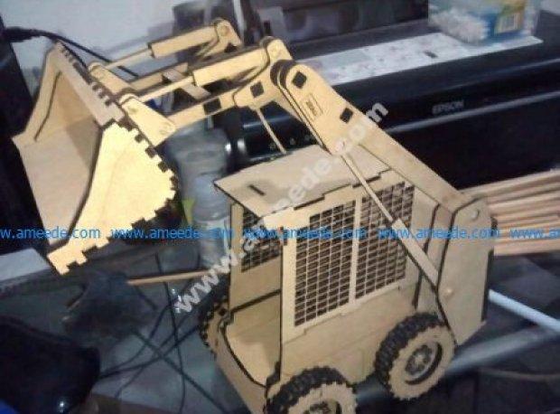 Excavator model