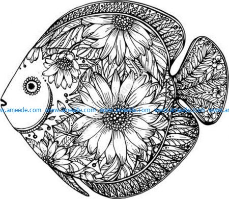 Fish With Floral