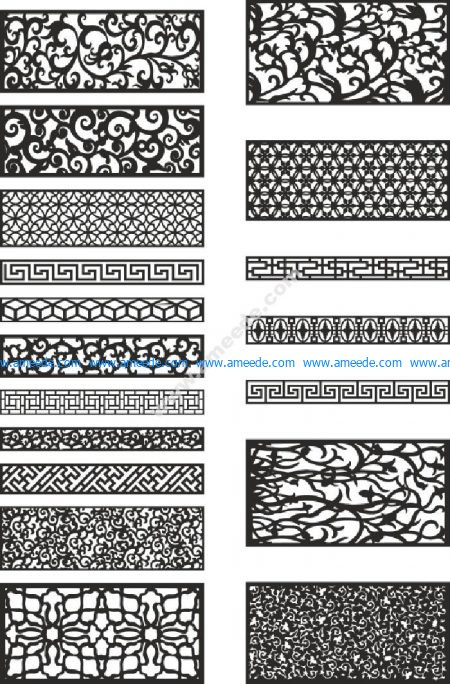 Free Patterns For Laser Cutting