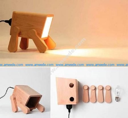 Go Nature 9 Creative And Cool Wooden Lamp
