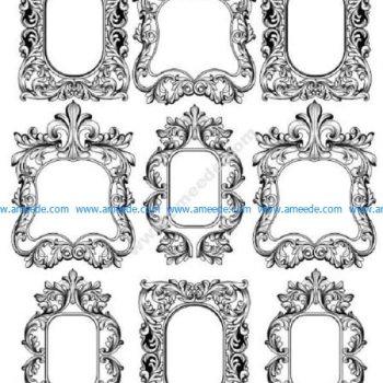 Gorgeous Baroque Frames