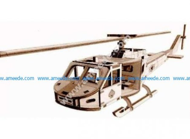 Helicopter Toy Template