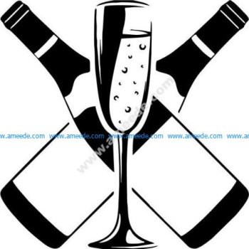 High-end drink bar icon