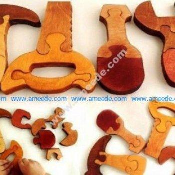 Instruments Wooden