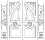 Islamic style of the door