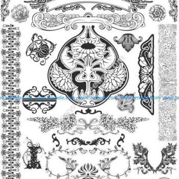Ornamental Vectors