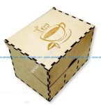 The pretty box contains delicious tea packages