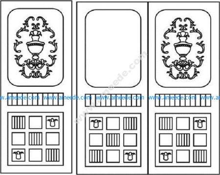 Vignette door design