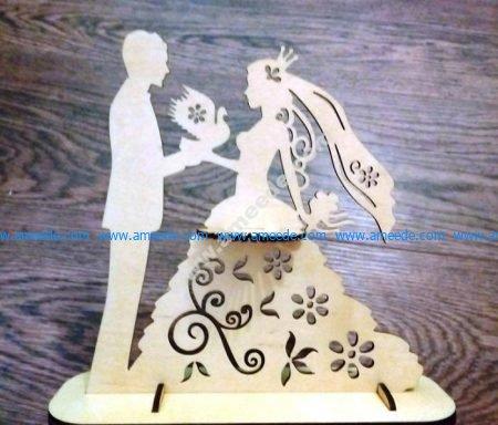 Wedding Napkin Holder