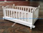 Wooden Doll Cot Bed Template