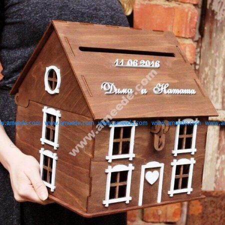 house shaped mailbox