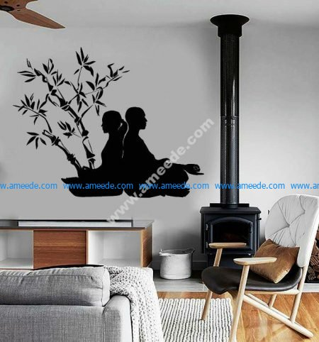 meditation room for couple
