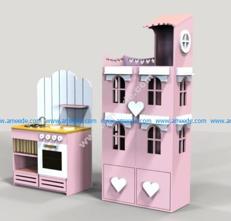 Kitchen and House