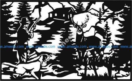 deer hunting cnc