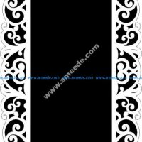 mirror frame pattern