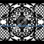 Arabic style bulkhead pattern