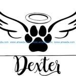 Dexter t-shirt print image