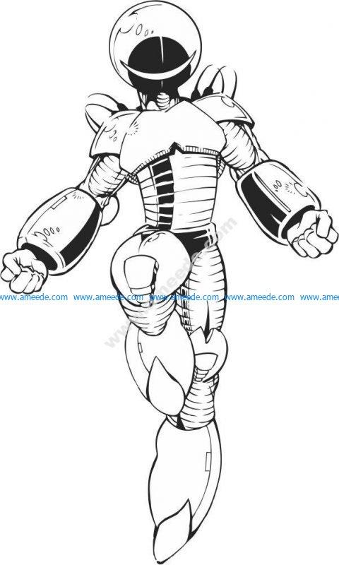 New model of alien armor