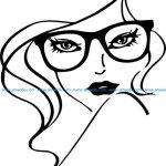 eyewear store icon for women