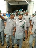 Seme Border Command harp on the media to enlighten the public on the dangers of smuggling; Records N1.055b, Seized 6,753 Bags of Rice