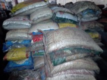 Over Five Thousand Bags of Rice Rots in Customs Warehouse.