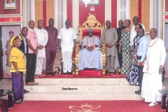 Olu of Warri Pledges Support for Ocean and Cargo Terminal