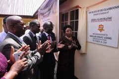 NB affirm its commitment to education development, donate block building