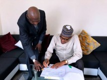 Buhari Signs Amended Deep Offshore Act in London