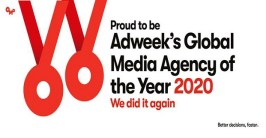 OMD named Global Media Agency of the Year 2020 by Adweek