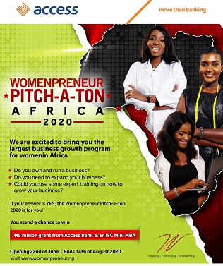 Access Bank Excites Female SMEs across Africa with Womenpreneur Pitch-A-Ton Second Edition