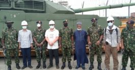 Military Takes Delivery of New Weapons for North-east