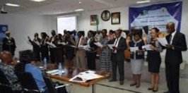 ICPC LAUNCH FAAN ANTI-CORRUPTION AND TRANSPARENCY UNIT MEMBERS