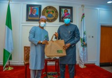 FAAN BOSS PAYS COURTESY VISIT TO LAGOS STATE GOVERNOR; DISCUSSES MMIA REOPENING POST COVID-19