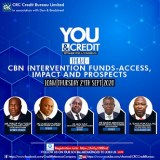 CRC Credit Bureau Pushes For More Education on CBN Intervention Funds