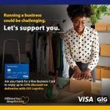 Visa and GIG Logistics partner to enable eCommerce delivery