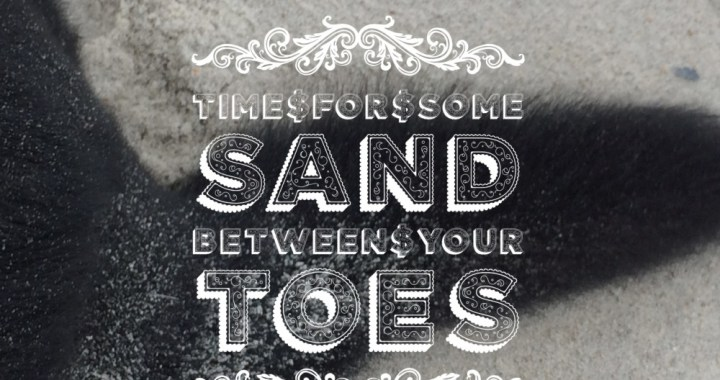 Sand Between Your Toes: Writing Prompt