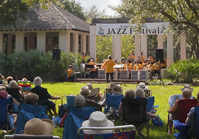AIJF Jazz At The Park Concert