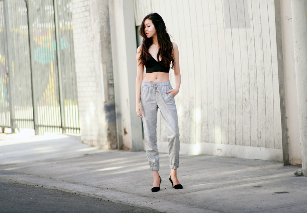 Piped Joggers personal style outfit #2