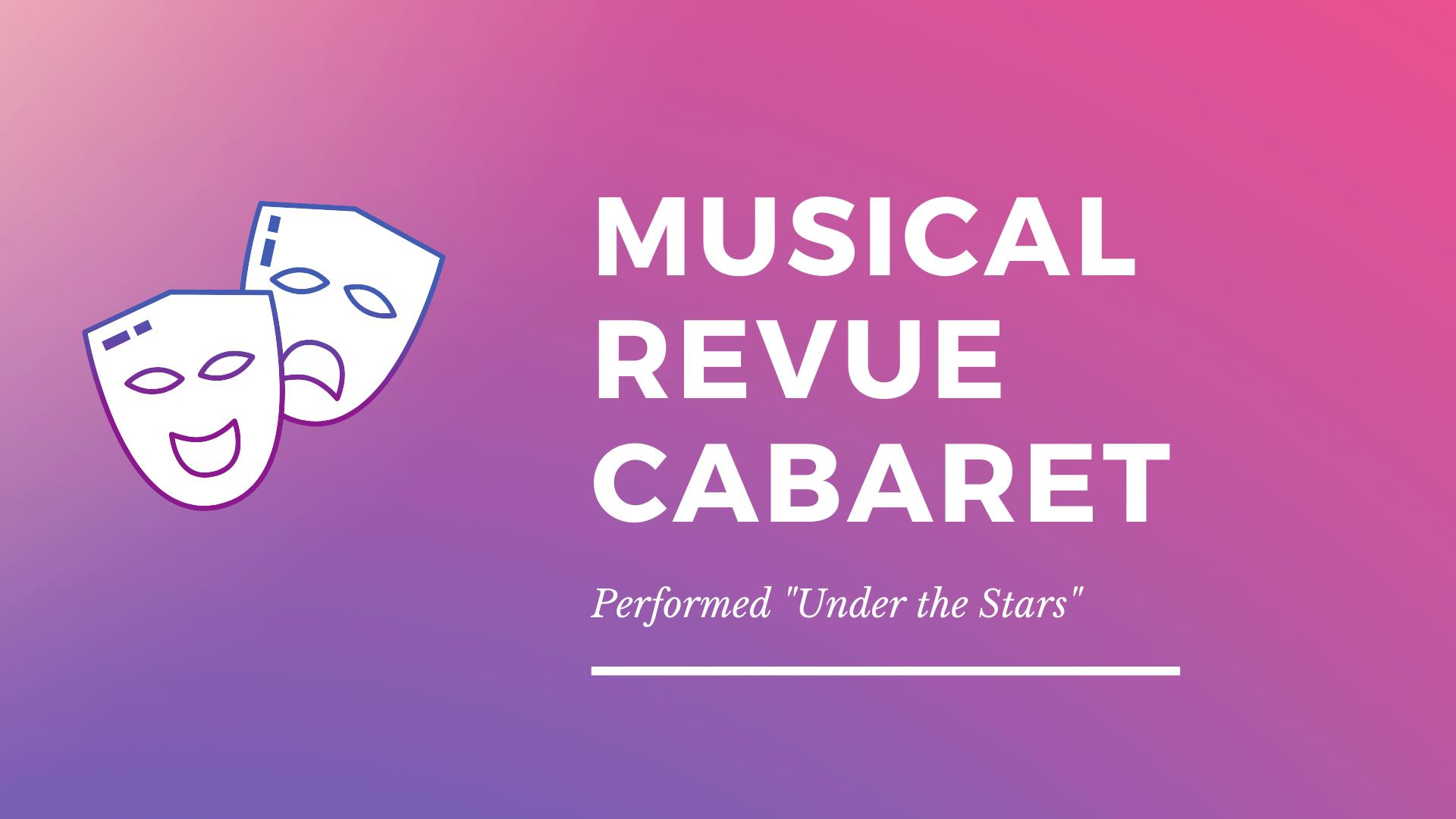 Thumbnail for Musical Cabaret Under the Stars