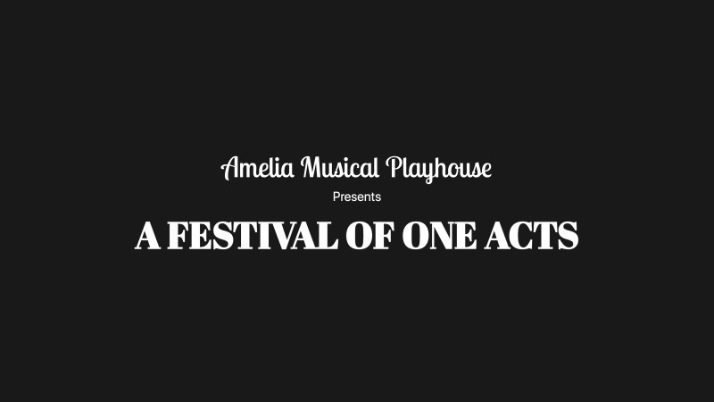 Thumbnail for A Festival of One Acts
