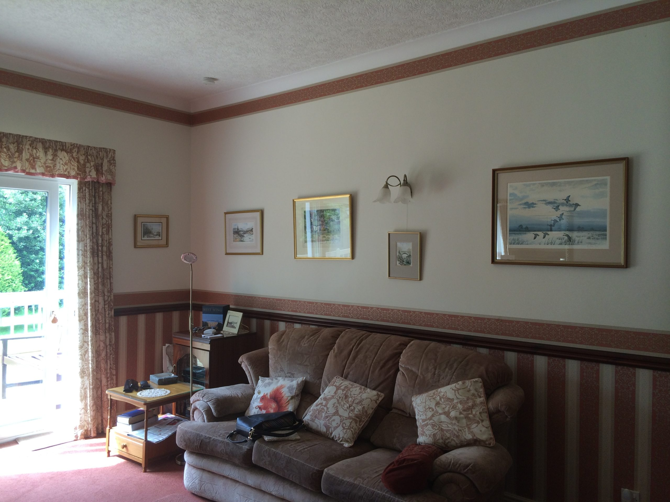 Living room before image