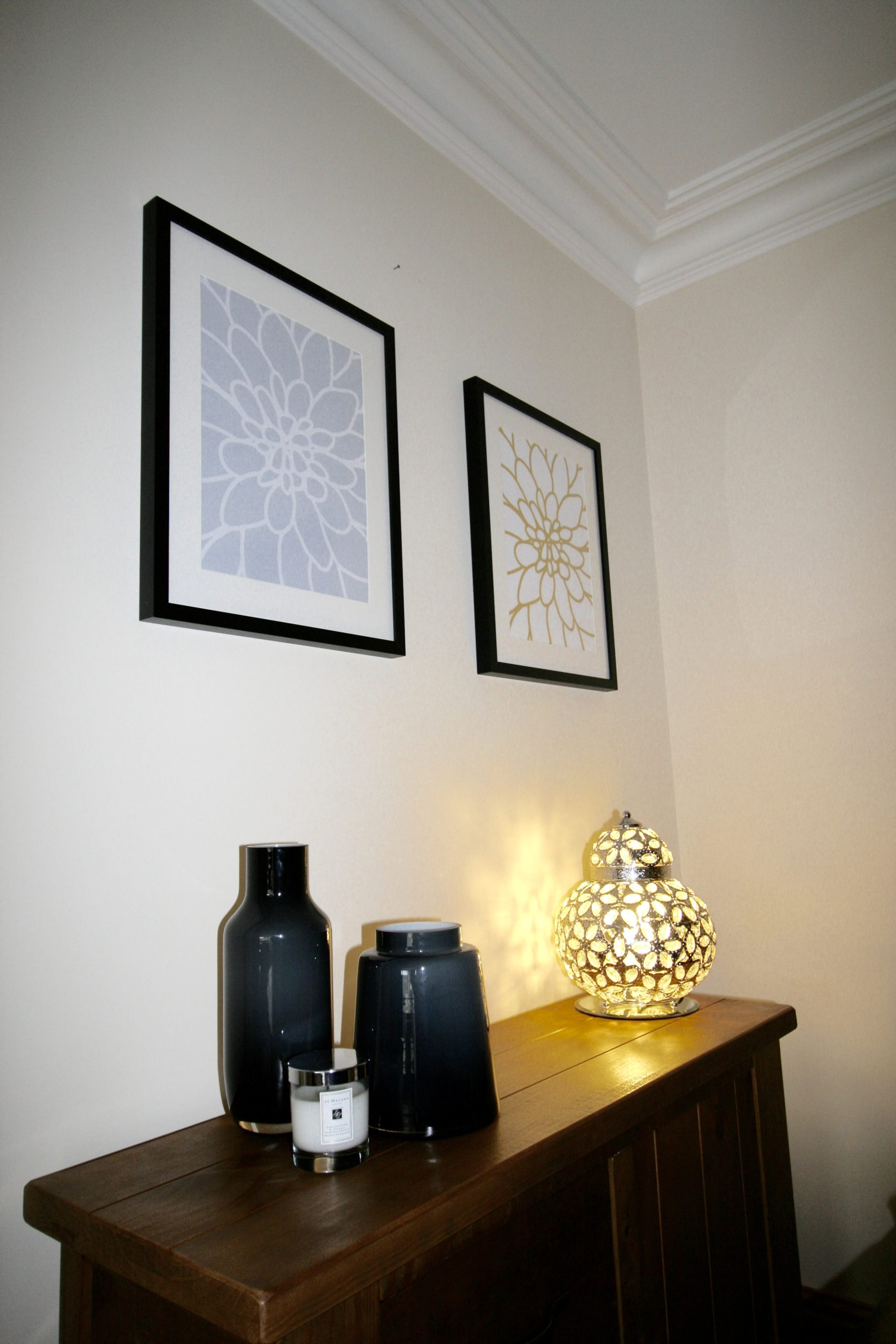 Living room refresh - Art prints from Etsy, frames from Wilko