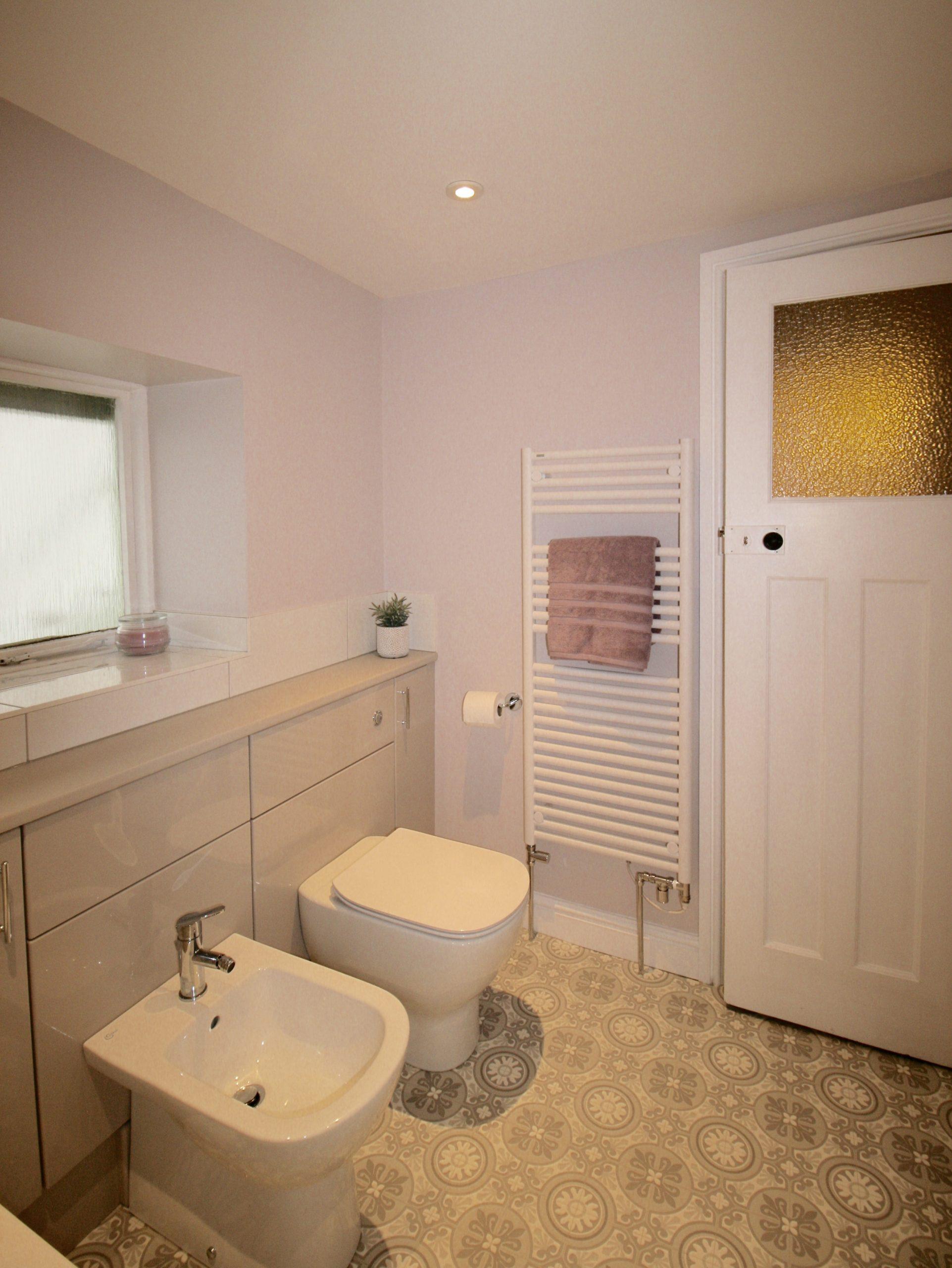 Dream bathroom - dual fuel towel radiator