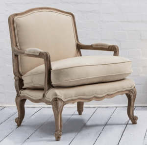 Lille chair in Oatmeal from Swoon Editions