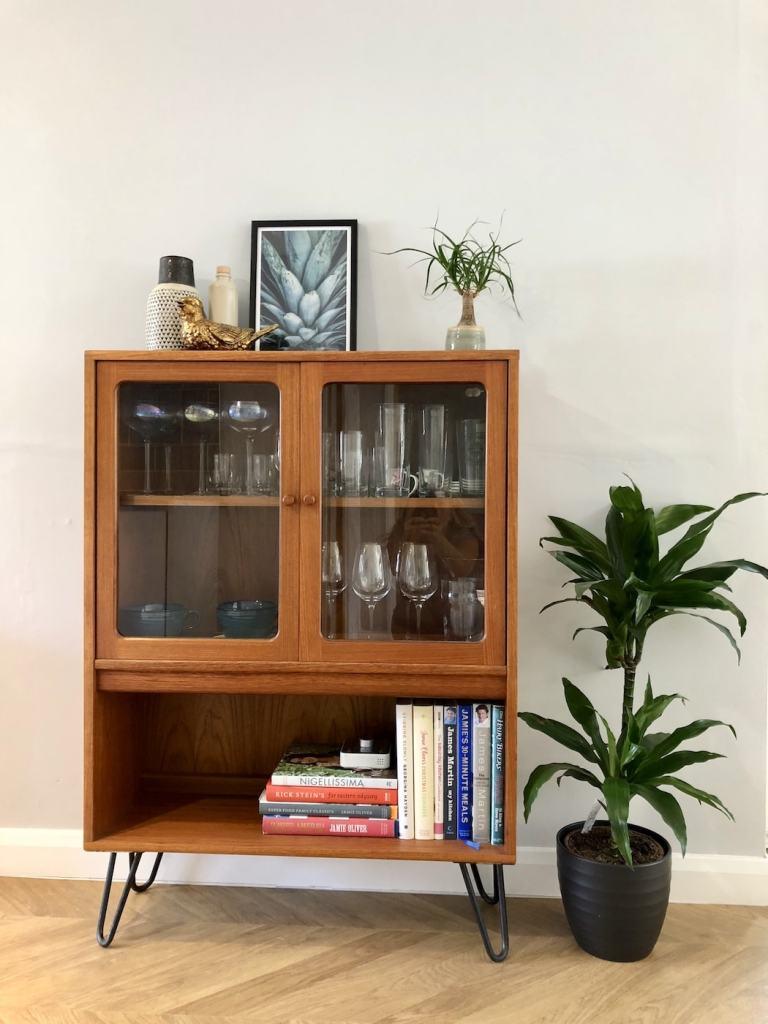 Retro Glass Cabinet
