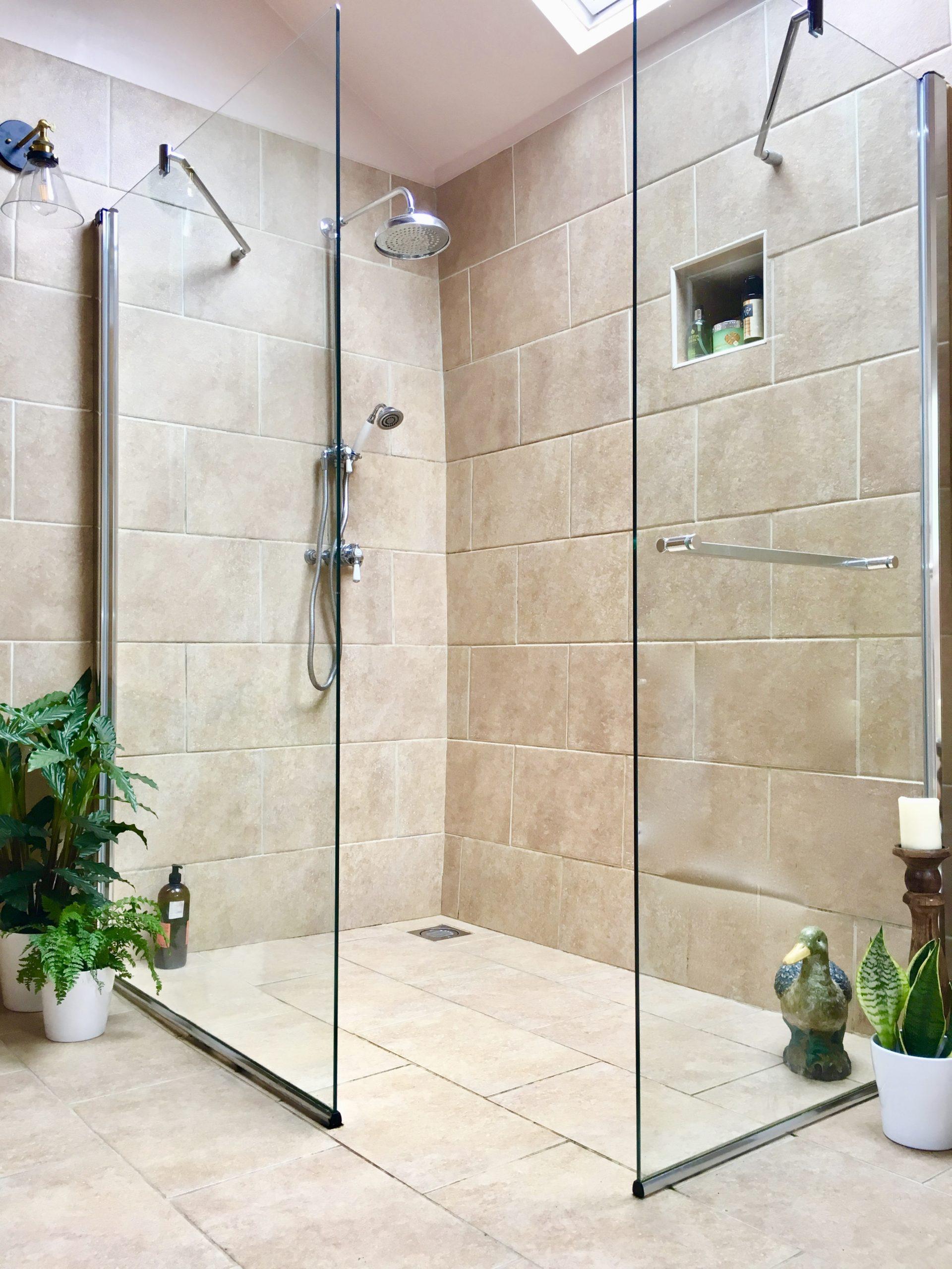 Interior Design Blog - large wet room designed by Amelia Wilson Interiors Ltd