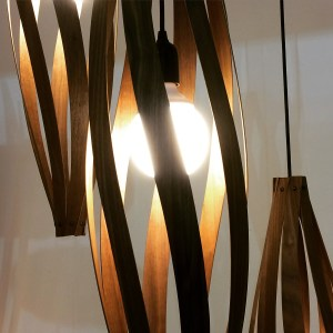 Pendant cocoon lights from Mac Master Design