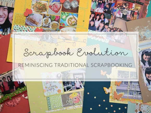 What has become of traditional scrapbooking? Discussing facets of scrapbook evolution